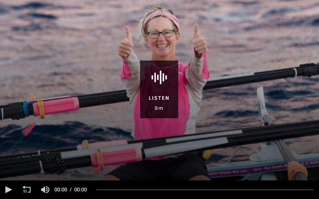 The first Australian women to row solo across an ocean